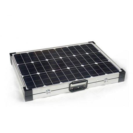 Składana turystyczna bateria słoneczna 2x50W