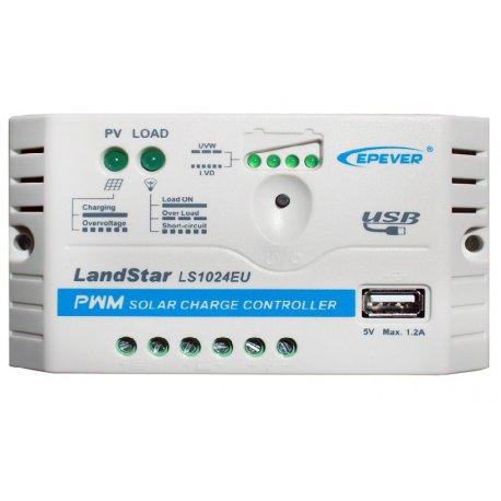 Regulator ładowania LS1024EU 10A  USB