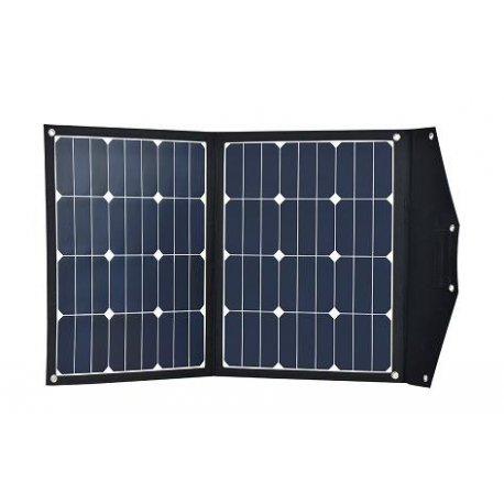 Przenośny panel solarny 2x40W z regulatorem 10A