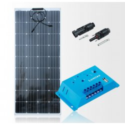 Zestaw na Łódź Panel słoneczny Flex 150W MAXX/ PWM 10A