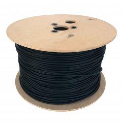 Kabel solarny 1x 4mm2 czarny 500m