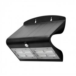 Lampa solarna LED V-TAC 7W 800lm Czarna