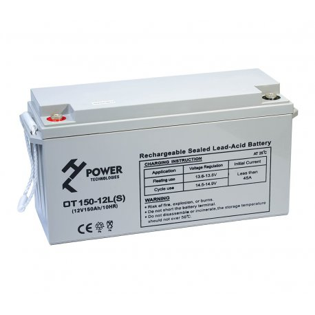Akumulator żelowy GEL HT POWER OT150-12LS 12V 150Ah M8