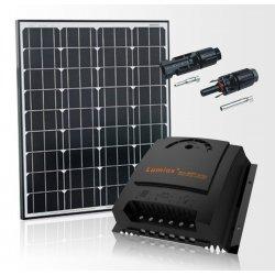 Bateria słoneczna 80W Prestige z regulatorem MPPT 10A