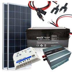 Zestaw solarny 155W / 12V--230V
