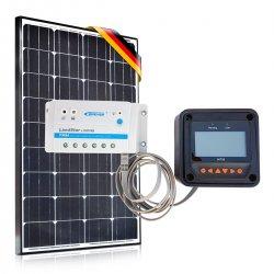 Bateria słoneczna 100W Prestige / 10A / Monitor Sterujący