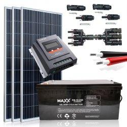 Zestaw słoneczny 0,465 kWh  12V / 200Ah
