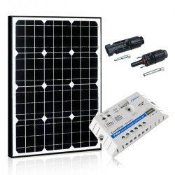 Bateria słoneczna 50W Maxx z regulatorem 5A