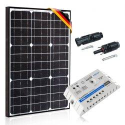 Bateria słoneczna 50W Prestige z regulatorem 5A