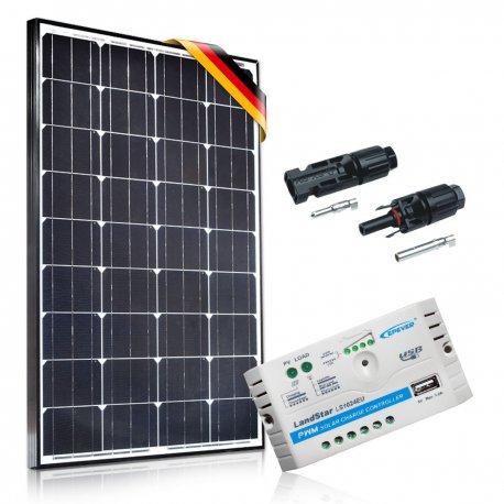 Bateria słoneczna 100W Prestige z regulatorem 10A