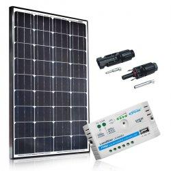 Bateria słoneczna 100W Maxx z regulatorem 10A