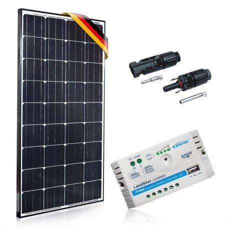 Bateria słoneczna 130W Prestige z regulatorem 10A