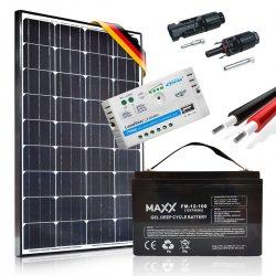 Zestaw solarny 100W Prestige 12V / 100Ah