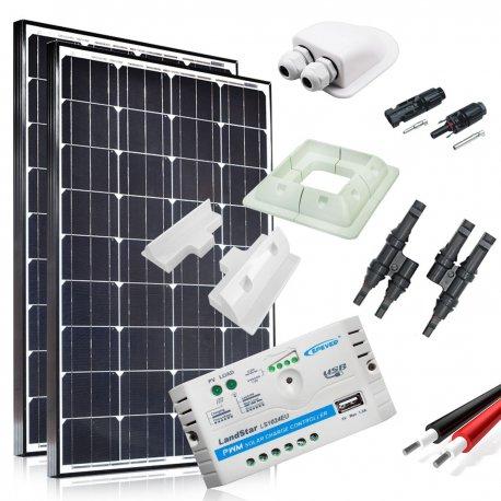 Zestaw zasilania solarnego do Kampera - Moc 260W Maxx