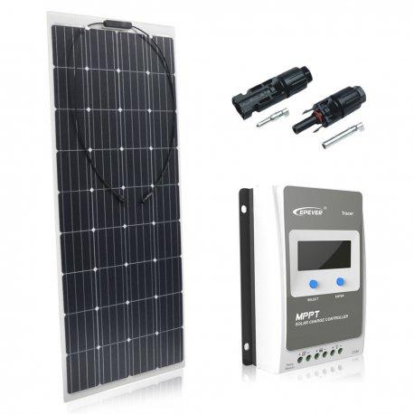 Zestaw na Łódź Panel słoneczny Flex 160W / EPSOLAR MPPT20A
