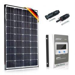 Bateria słoneczna 130W Prestige z MPPT 10A