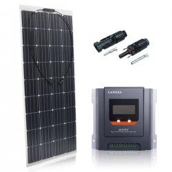 Zestaw na Łódź Panel słoneczny Flex 160W MAXX / MPPT20A