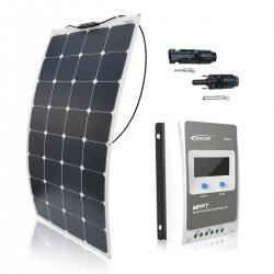 Zestaw na Łódź Panel słoneczny Flex 110W / MPPT EPSOLAR 10A