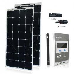 Zestaw na Łódź Panel słoneczny Flex 220W / MPPT EPSOLAR 20A
