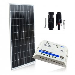 Bateria słoneczna 170W  z regulatorem 20A
