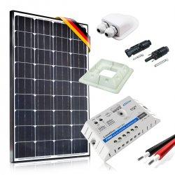Zestaw zasilania solarnego do Kampera - Moc 130W Prestige