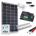 Zestaw zasilania solarnego do Kampera 100W - Premium
