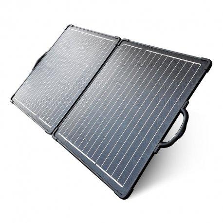 Składana bateria słoneczna 2x50W