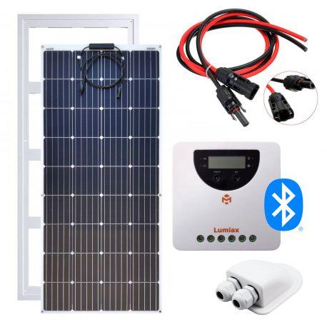 Zestaw zasilania solarnego na kamper – FLEX 180W MAXX / MPPT20A